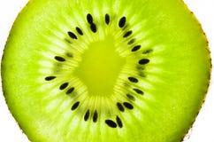 Fresh juicy kiwi fruit slice Stock Image