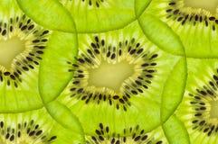 Fresh juicy kiwi fruit texture. Fresh juicy kiwi fruit slice stock photo