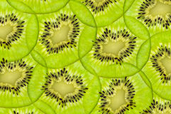 Fresh juicy kiwi fruit texture Royalty Free Stock Photo