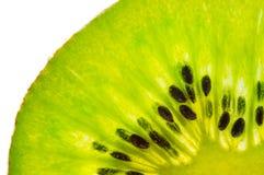 Fresh juicy kiwi fruit texture. Fresh juicy kiwi fruit slice royalty free stock photos