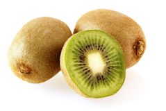 Fresh and juicy kiwi fruits Royalty Free Stock Photography
