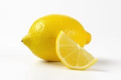 Fresh juicy lemon stock photo