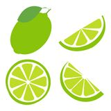 Fresh and juicy lemon with green leaf on white background. Vector illustration. Fresh and juicy lemon with green leaf on white background. Vector vector illustration