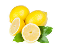 Fresh juicy lemons Royalty Free Stock Photo