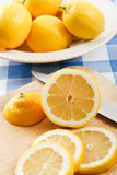 Fresh Juicy Lemons Stock Photos