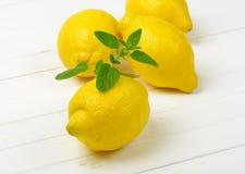 Fresh juicy lemons Stock Photo