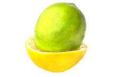 Fresh juicy lime, Stock Image