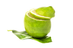 Fresh juicy lime, Royalty Free Stock Image