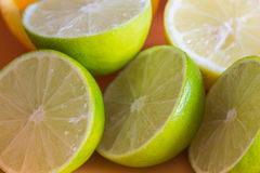 Fresh juicy lime Royalty Free Stock Image