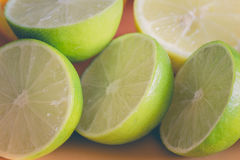 Fresh juicy lime Stock Photography