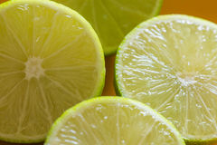 Fresh juicy lime Royalty Free Stock Images