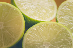 Fresh juicy lime Royalty Free Stock Photography