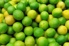 Fresh juicy limes Stock Photos