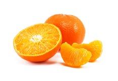 Fresh juicy mandarin Royalty Free Stock Images