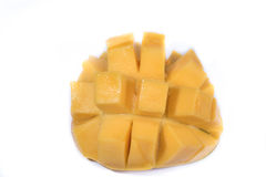 Fresh juicy mango isolated Royalty Free Stock Photos