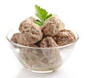 Fresh juicy meatballs Royalty Free Stock Images