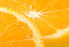 Fresh juicy orange. Royalty Free Stock Image