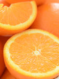Fresh juicy orange Stock Image