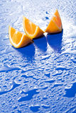 Fresh juicy orange slices Royalty Free Stock Photo