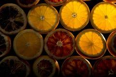 Fresh Juicy Orange Slices Stock Photos
