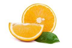 Fresh juicy oranges Royalty Free Stock Photos