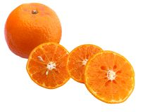Fresh juicy oranges Royalty Free Stock Photo