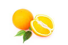 Fresh juicy oranges Stock Photos