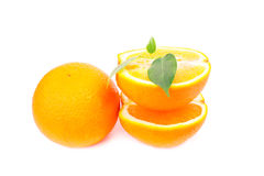 Fresh juicy oranges Royalty Free Stock Photography