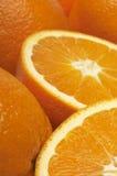 Fresh Juicy Oranges Royalty Free Stock Images