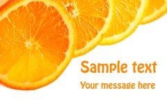 Fresh juicy oranges Royalty Free Stock Photo