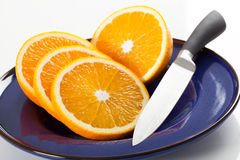 Fresh juicy oranges Royalty Free Stock Image