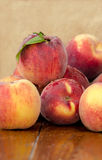 Fresh juicy peaches Stock Photography