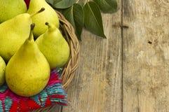 Fresh, juicy pears Royalty Free Stock Photo