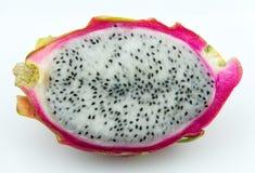 Juicy pitaya dragonfruit in closeup royalty free stock image