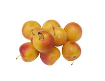 Fresh juicy plums Royalty Free Stock Images