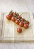 Fresh juicy red cherry tomatoes Royalty Free Stock Photo