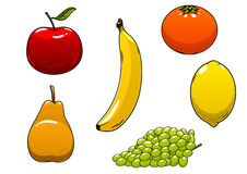 Fresh juicy and ripe  fruits Royalty Free Stock Photos