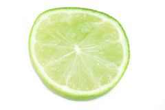 Fresh lime slice Royalty Free Stock Image