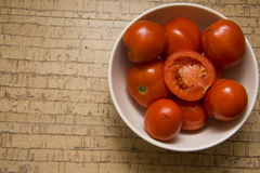 Fresh juicy tomatoes Royalty Free Stock Images