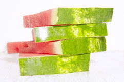 Fresh and juicy watermelon slices Royalty Free Stock Image