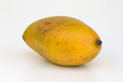 Fresh juicy yellow ripe mango Royalty Free Stock Images