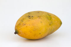 Fresh juicy yellow ripe mango Stock Image