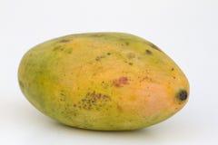 Fresh juicy yellow ripe mango Stock Images