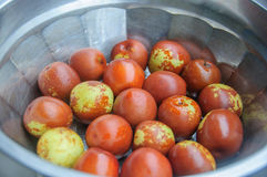 Fresh jujube Royalty Free Stock Photo