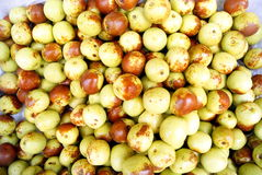 Fresh jujube Stock Photo