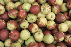 Fresh jujubes. Jujubes, It also called the Chinese green jujube,it is well-known in China Stock Photos