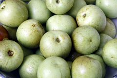 Fresh jujubes. Jujubes, It also called the Chinese green jujube,it is well-known in China Royalty Free Stock Images