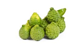 Fresh Kaffir Lime Royalty Free Stock Image