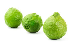 Fresh Kaffir Lime Stock Photo