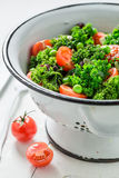 Fresh kale salad full of vitamin and minerals Royalty Free Stock Image